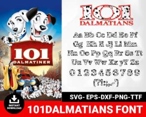 101Dalmatians Font