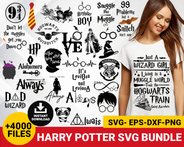 Harry potter svg