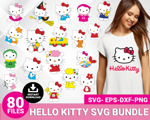 Hello kitty svg