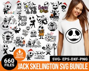Jack Skelington svg