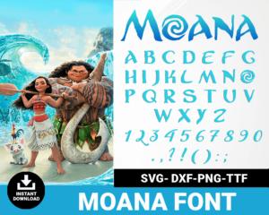 Moana font