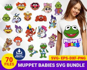 Muppet babies svg