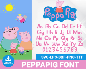 Pippapig font