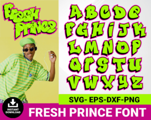 fresh prince font
