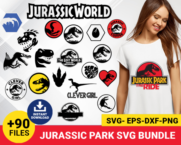 jurassic world svg