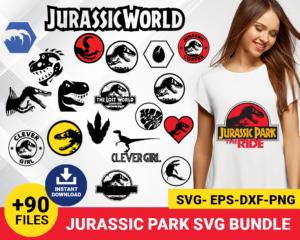 jurassic world svg