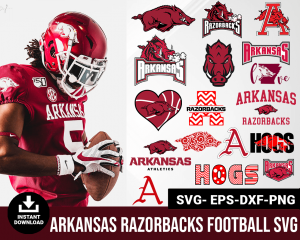 Arkansas Razorbacks svg