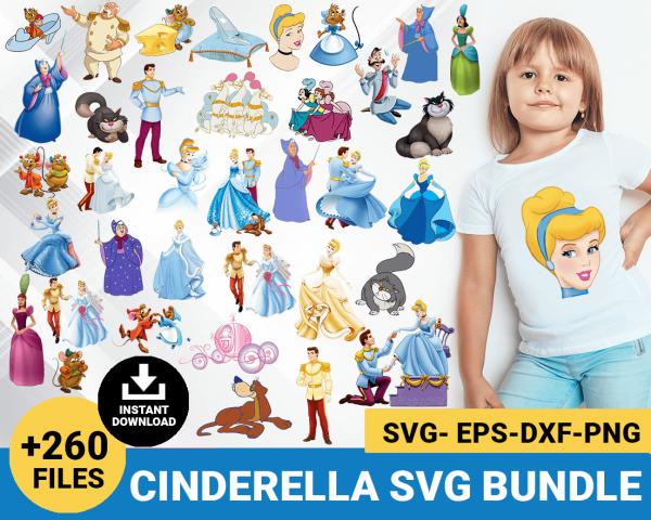 Cinderella svg
