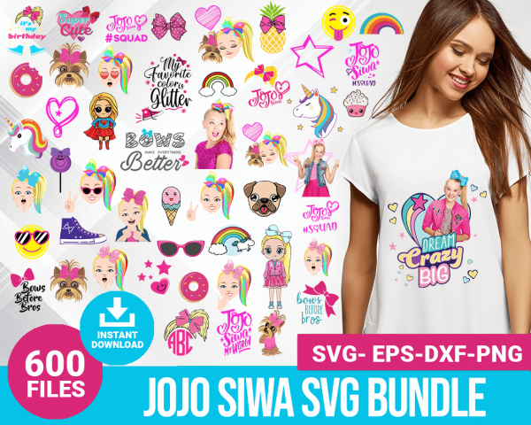 Jojo siwa svg bundle