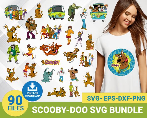 Scooby Doo Bundle svg