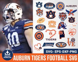 Auburn Tigers svg