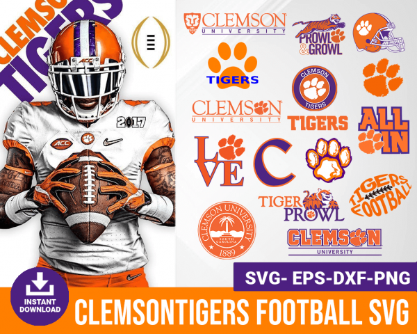 Clemson Tigers svg