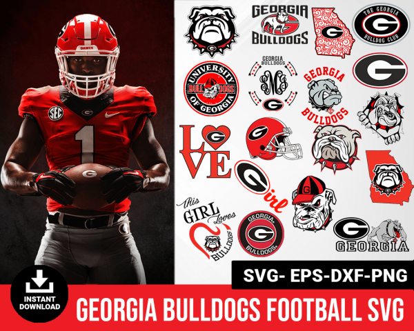 Georgia Bulldogs svg