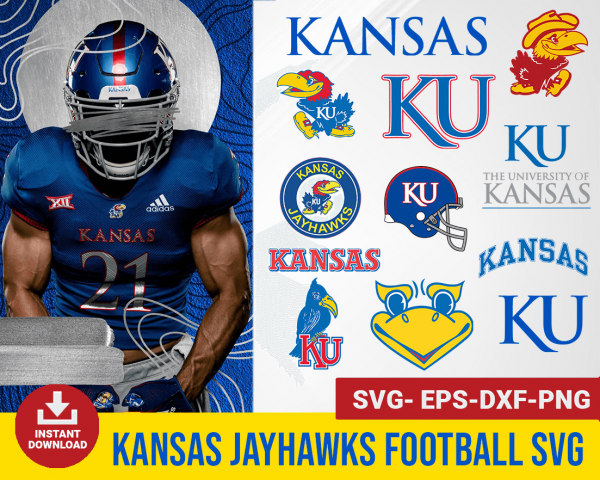Kansas Jayhawks svg