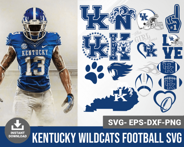 Kentucky Wildcats svg