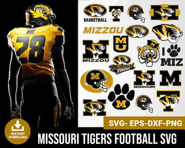 Missouri Tigers svg