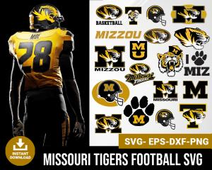 Missouri Tigers svg