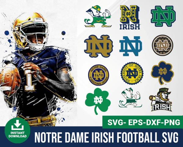 Notre Dame irish svg