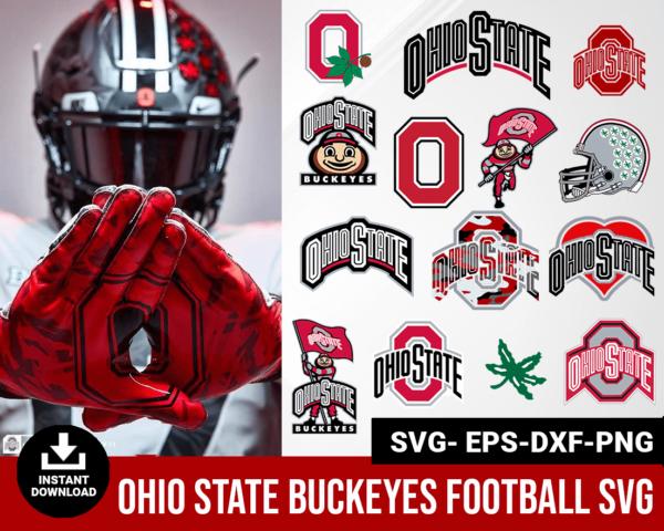 Ohio State Buckeyes svg
