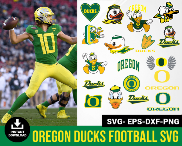 Oregon Ducks svg