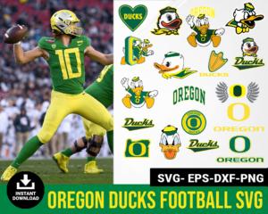 Oregon Ducks svg