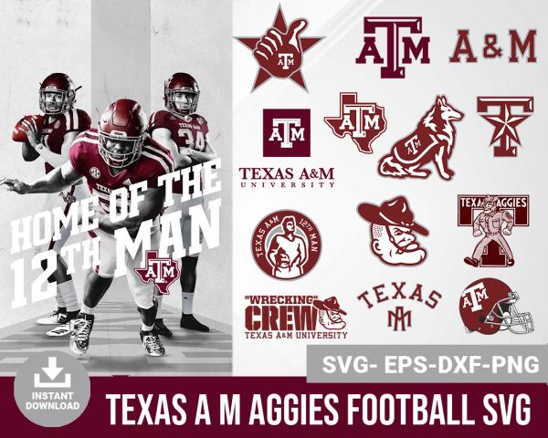 Texas A M Aggies svg