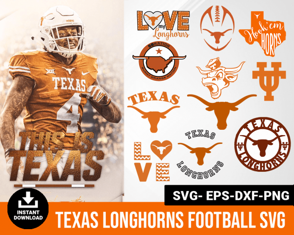 Texas LongHorns svg