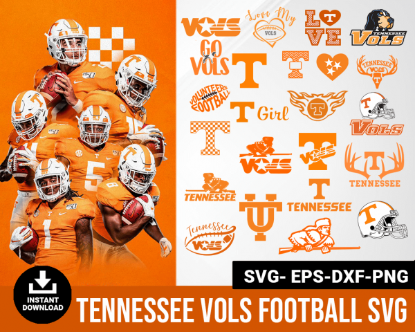 tennessee vols svg